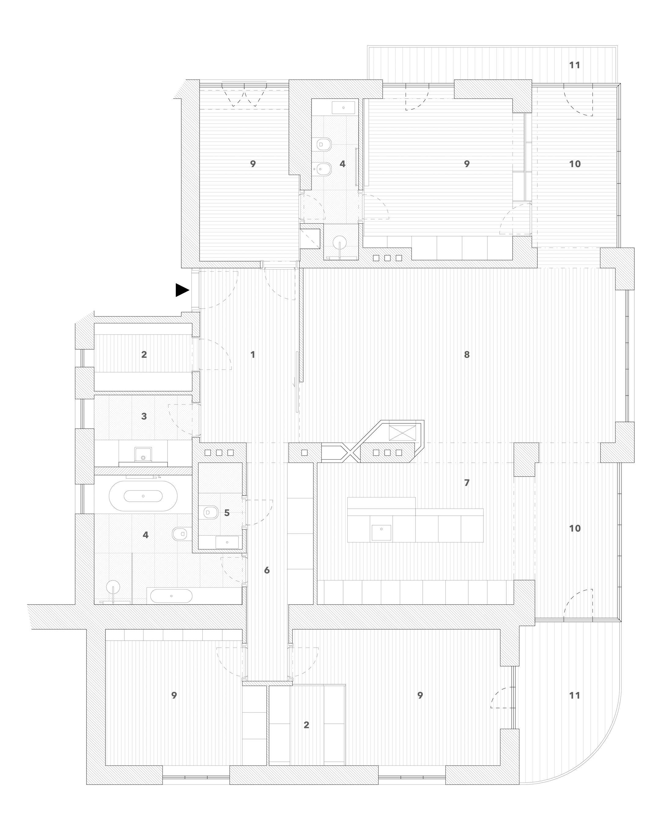 Floorplan After Reconstruction