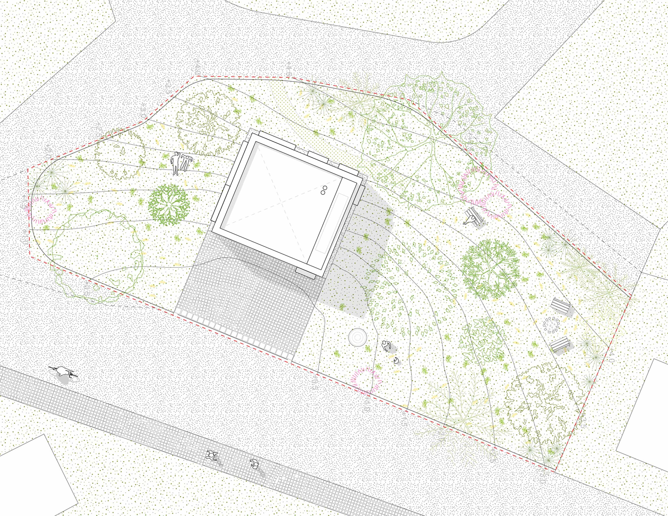 The Brick House - Site Plan