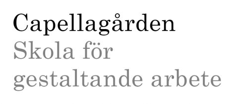 Capellagården Summer Course 2016